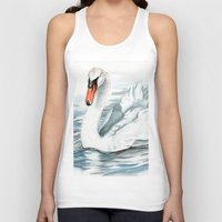swan queen Tank Tops featuring Swan by rchaem