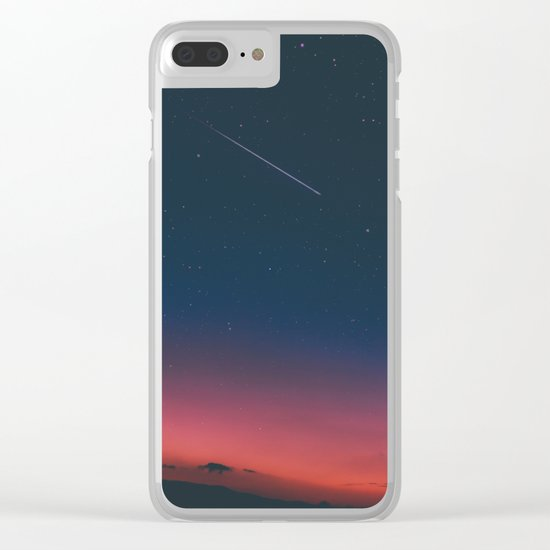 sky over Mexico Clear iPhone Case