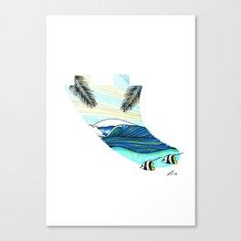 Fin dreams Canvas Print