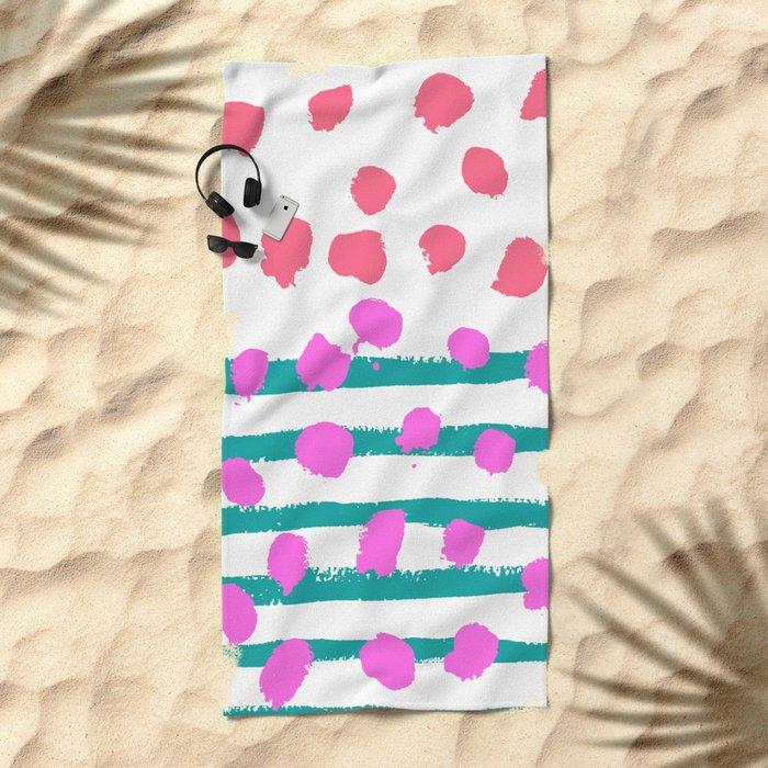 Summer Colours Beach Towel