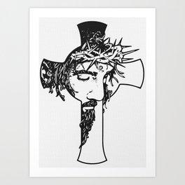 The Great Jesus Art Print