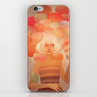 loish iPhone & iPod Skins featuring Glow by loish