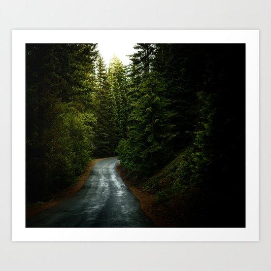 dream road Art Print