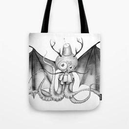 MonoChro-Monster Tote Bag