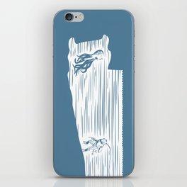 Deep Seasaw Diver iPhone Skin