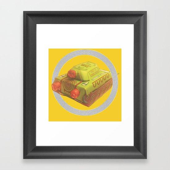 TANKE Framed Art Print