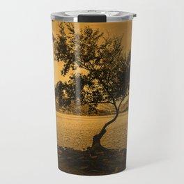Tree at Llyn Padarn Travel Mug