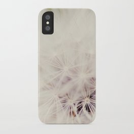 Dandelion Dreams iPhone Case