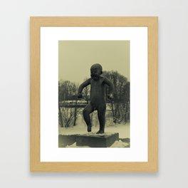Cries of Vigelandsparken Framed Art Print