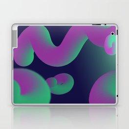 Dope gradient blobs from space Laptop & iPad Skin