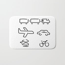turn mobility travel Bath Mat