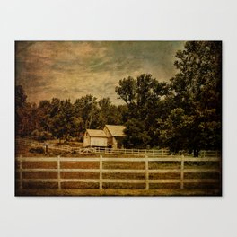 Otisville Sanitarium Barn Canvas Print