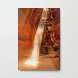 Guiding Light, Upper Antelope Canyon Metal Print
