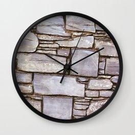 Rock Wall Wall Clock