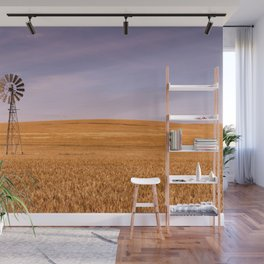 Ripening Cereal Rural Landscape in Australia Wall Mural
