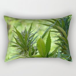 Beauty is in the eye of the beholder... Rectangular Pillow