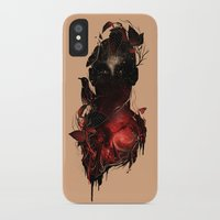 universe iPhone & iPod Cases featuring Universe Inside by nicebleed