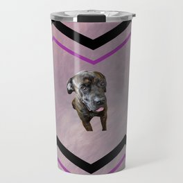 Italian Mastiff Art Travel Mug