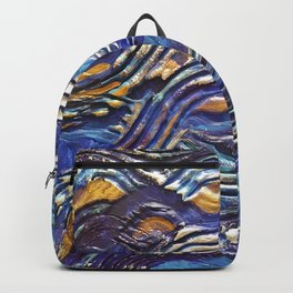 Abstract nautical background Backpack