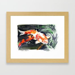 Koi carp 2 Framed Art Print
