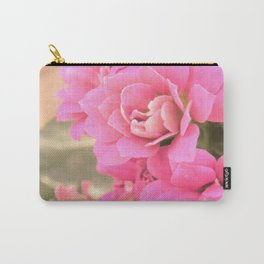 peach colored flower Carry-All Pouch