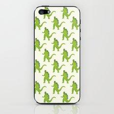 Godzilla pattern iPhone & iPod Skin