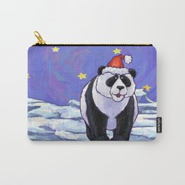 Panda Bear Christmas Carry-All Pouch