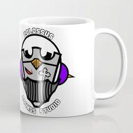 Colossus Sounds Studio Logo White Coffee Mug
