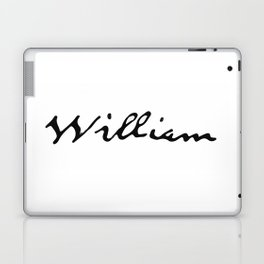 William Laptop & iPad Skin