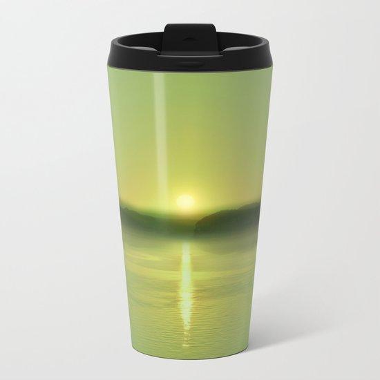 Pastel vibes 51 Greenery Metal Travel Mug