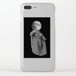 Rootless 5 (undress the moon) Clear iPhone Case