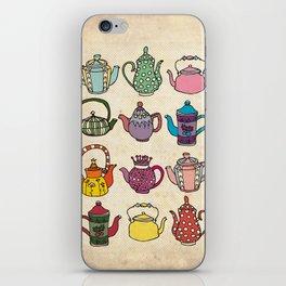 Teapots iPhone Skin