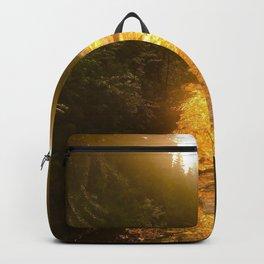 Sunset in Natural Bridge Backpack