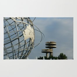 NY Unisphere Queens Rug