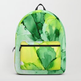 Spring Inspiration ~ Alcohol Ink Painting Backpack