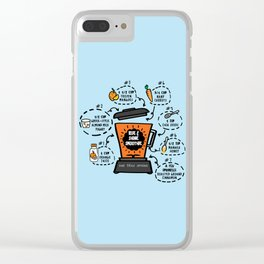 Rise and Shine Smoothie Recipe Clear iPhone Case