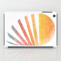 ed sheeran iPad Cases featuring Raising sun (rainbow-ed) by Picomodi