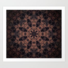 Darksome Night Art Print