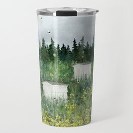 There's Ghosts By The Apiary Again... Travel Mug