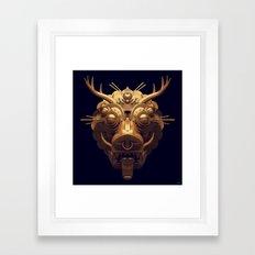 Golden Diety Framed Art Print