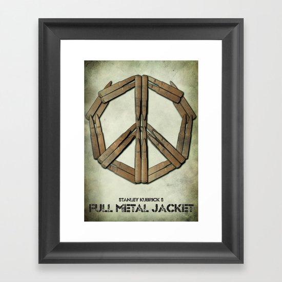 Full Metal Jacket Framed Art Print