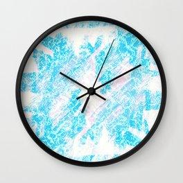 Blue (Da Ba Dee) Wall Clock