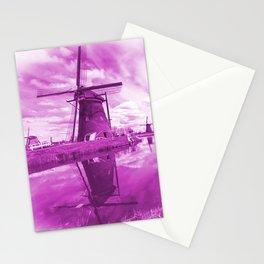 Pink Windpump Stationery Cards
