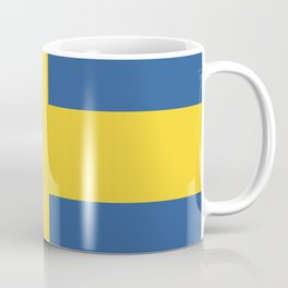 Sweden flag emblem Coffee Mug