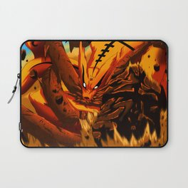 kyuubi angry Laptop Sleeve