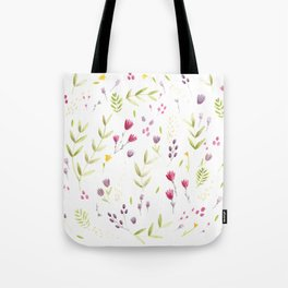 Berry Bouquet Tote Bag