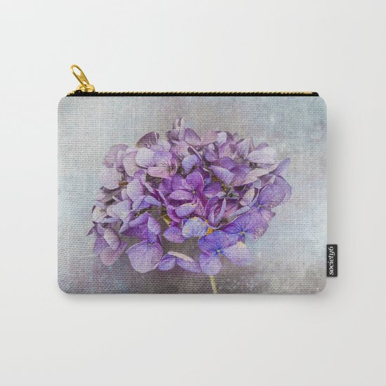 Beautiful Lilac Hydrangea Carry-All Pouch