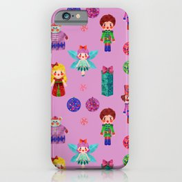 Pink Christmas - The Nutcracker Edit View iPhone Case