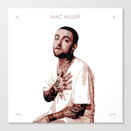 Mac Miller Tribute Canvas Print