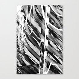 Light Dance Dark Stripes Canvas Print